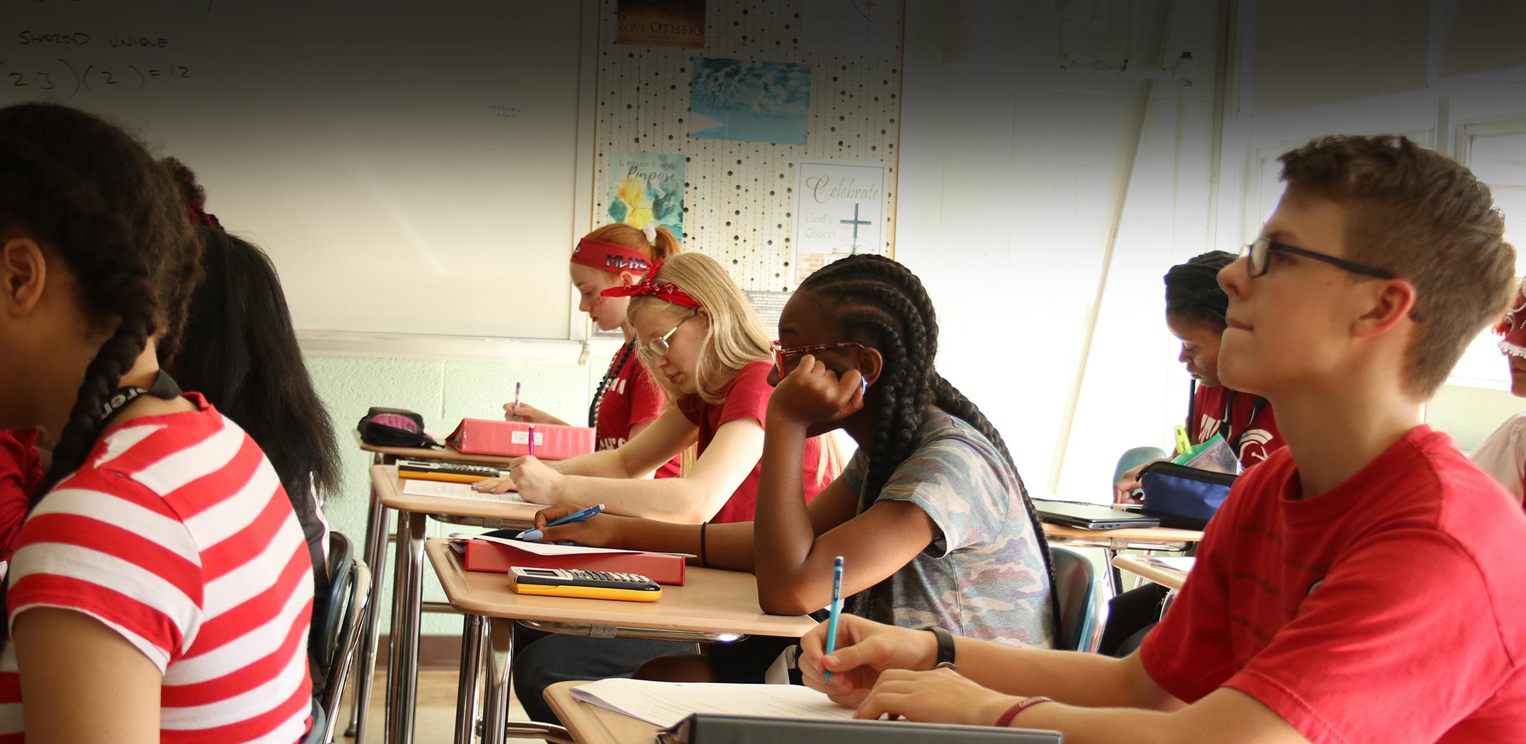 Classroom web header